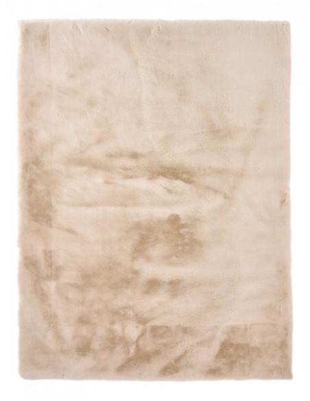 Tapis Fausse Fourrure 150x200 Jacob Beige Tapis Salon Et Chambre But