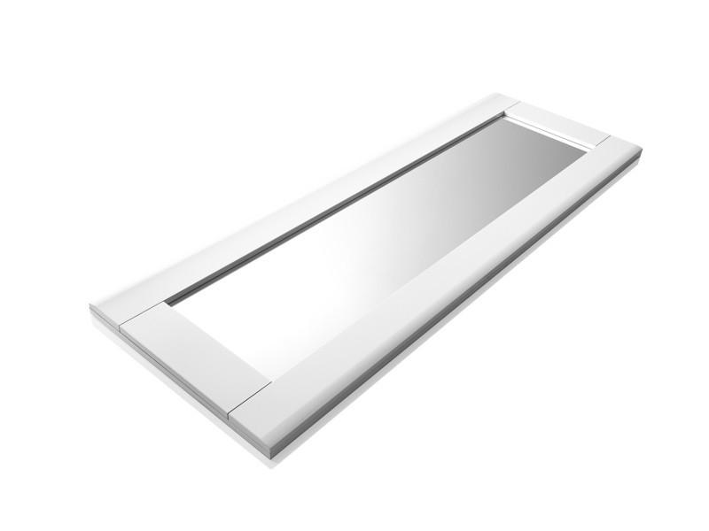 Miroir BELLINI décor blanc